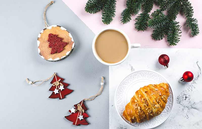 Desayuno en Navidad